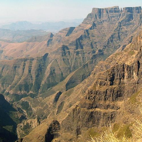 Драконов траверс (Drakensberg Traverse), Южная Африка