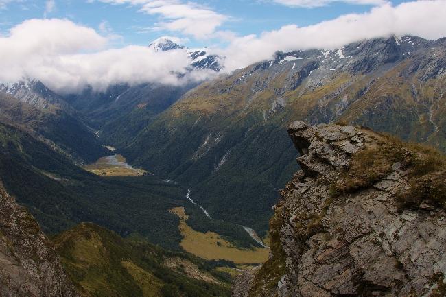 Каскадное седло (Cascade Saddle), Новая Зеландия