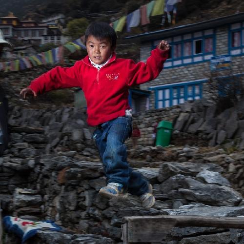 Тенцинг Чосанг (Tenzing Chosang) - 6 лет, первый сын Нимы Лхаму