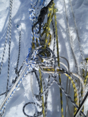 "Экспедиция черкасских альпинистов ""Флаг Черкасс на Вершинах Мира"" на Хан-Тенгри 2013. ФОТО"
