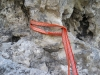 Технические приёмы в альпинизме и скалолазании. Страховка петлями на рельефе
