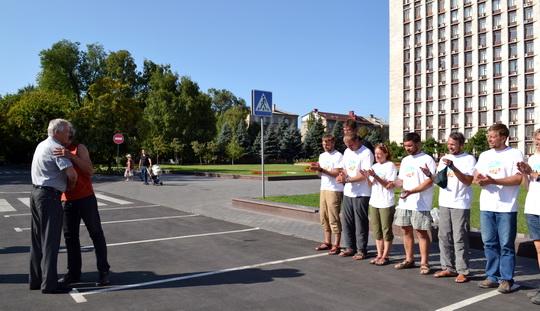 встреча команды экспедиции «Донбасс – Снежный Барс» 26 августа 2013