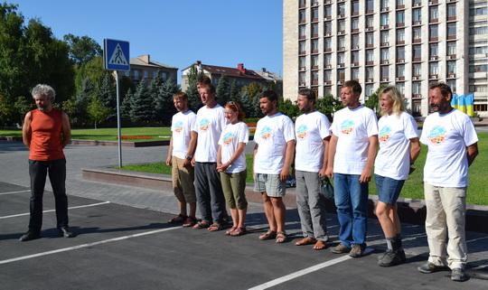 встреча команды экспедиции «Донбасс – Снежный Барс». 26 августа 2013