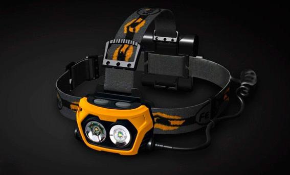 Мощный налобный светодиодный фонарь - Fenix HP25 CREE XP-E