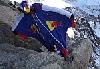 Валерий Розов: первый в истории прыжок в вингсьюте со скалы пика Эгюий-дю-Миди (Монблан). ВИДЕО