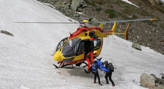 Первая помощь попавшим в лавину