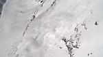Невероятная съемка лыжника попавшего в лавину