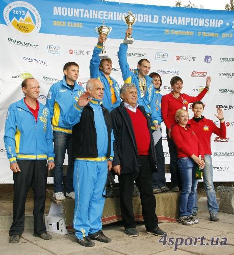 Чемпионат Мира по альпинизму в скальном классе 2013 года. Фоторепортаж с награждения победителей