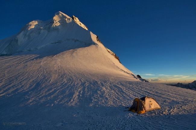 пятизвездочный бивуак на склоне горы Дрифика