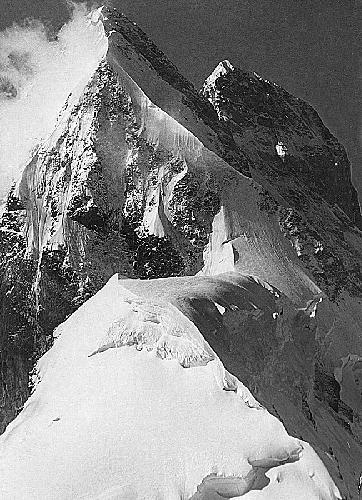 Ушба – северная и южная вершина  (Фото П.Ф.Захарова)