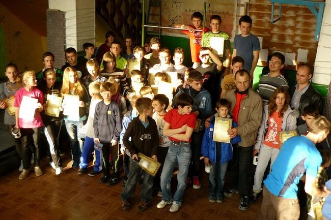 В Хмельницкой области прошел открытый чемпионат по скалолазанию