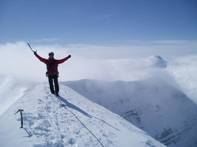 Валерий Бабанов (Valeriy Babanov) на вершине Андромеды