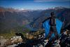 Первый прыжок в вингсьюте в Абхазии! +ФОТО