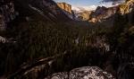 Национальный парк Йосемити (Yosemite) в интервальной фотосъемке (timelaps)