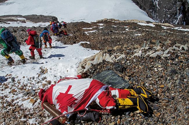 труп канадской альпинистки  Шрийя Шах-Клорфайн (Shriya Shah- Klorfine) на Эвересте