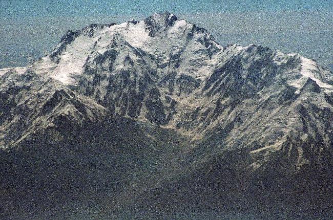 Нангапарбат (Нанга Парбат / Nanga Parbat / 8126 м,— девятый по высоте восьмитысячник мира. Вид на Западную стену - сторону Диамир (Diamir Face)