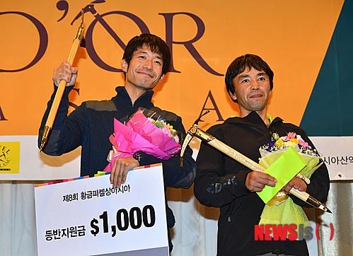 победители премии Золотой Ледоруб Азии 2013 года (Piolets D