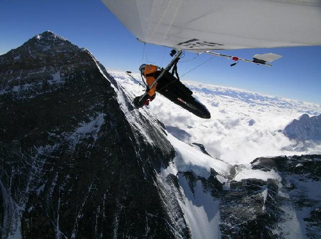 параплан на Эвересте