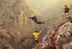 Рекорд Испании в роупджампинге: 180 метров свободного падения