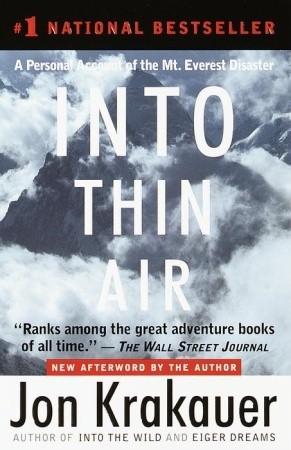 Джон Кракауэр (Jon Krakauer). Into Thin Air (по-русски): Сквозь разреженный воздух