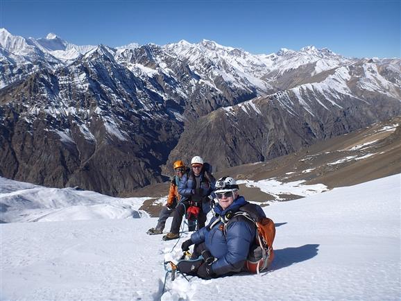 Первое восхождение на вершину Чхубохе (Chhubohe, 5640 м)