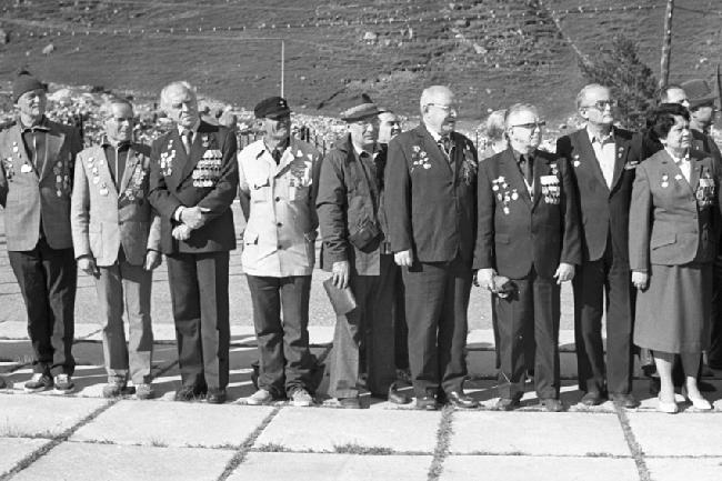 слева 4- Кахиани, 6 - Нестеров, 7- Кропф, 8- Шкловский, 1985г