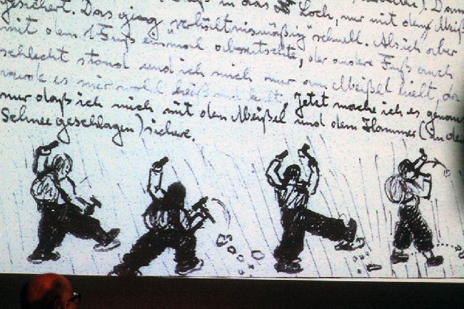 Рисунок из архива Курта Димбергера