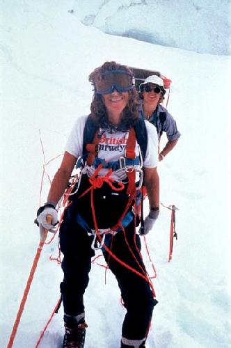 Элисон и Марджи на Голландском маршруте. Женская экспедиция 1978 года на Аннапурну