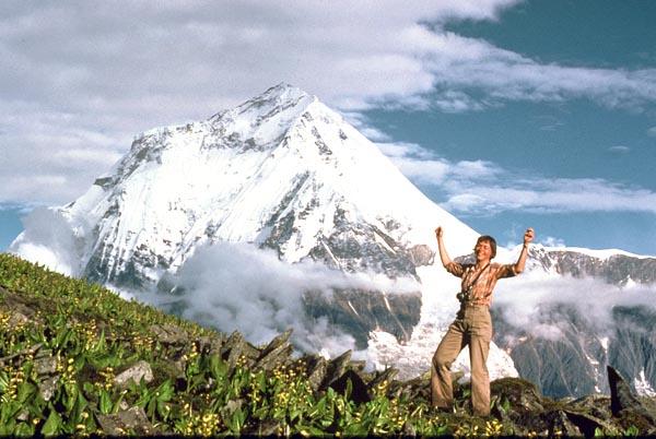 Женская экспедиция 1978 года на Аннапурну. Фото на фоне вершины Daulatgiri I