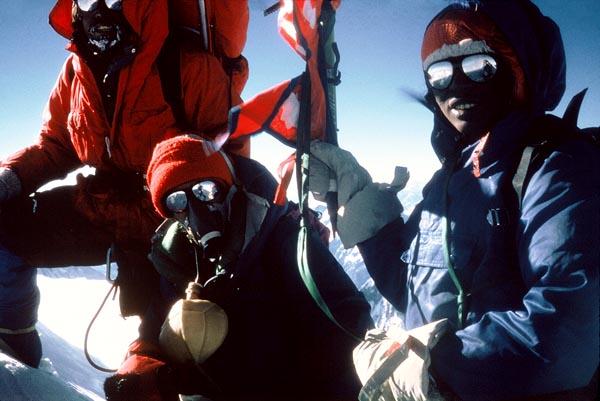 На вершине Аннапурны. Женская экспедиция 1978 года