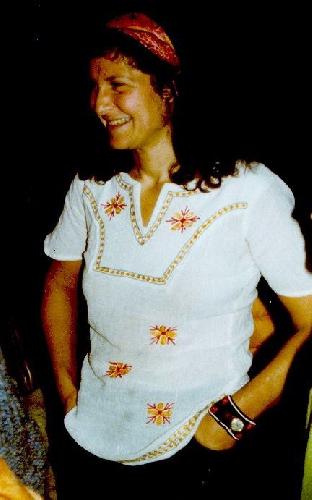 Арлин Блюм (Arlene Blum) в 1977 году во время кампании по сбору средств на экспедицию а Аннапурну