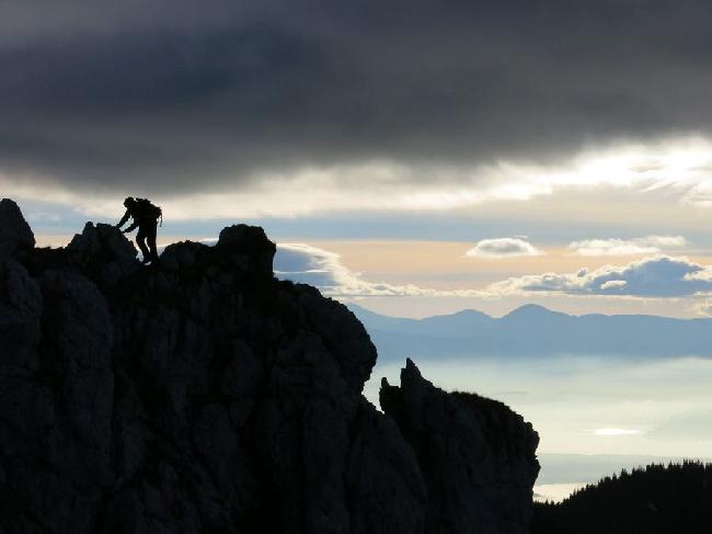 Додо Копольд (Dodo Kopold) в зимнем солопрохождении Главного хребта Татр