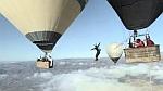 Хайлайн между воздушными шарами! +ВИДЕО