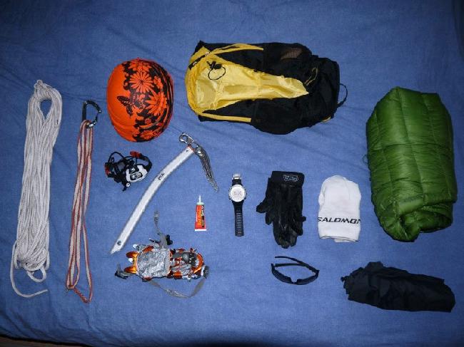 Килиан Джорнет Бургада (Kilian Jornet Burgada): снаряжение для скоростного восхождения на Монблан