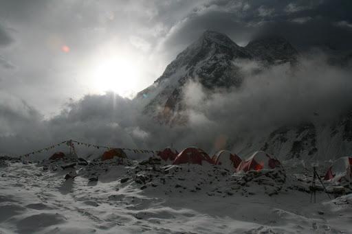 Экспедиция на К2 в 2008 году
