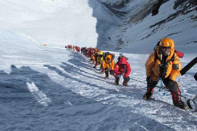 восхождение на Эверест. май 2012 года