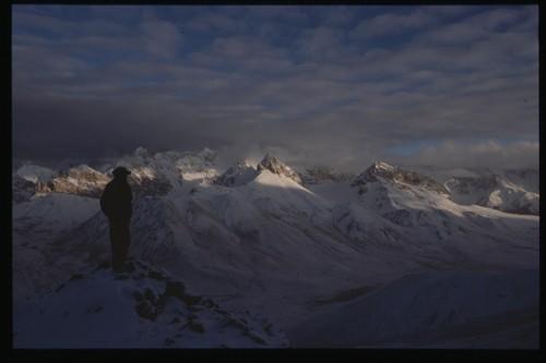 Вид с вершины Минглиг Шар (Minglig Sar peak)