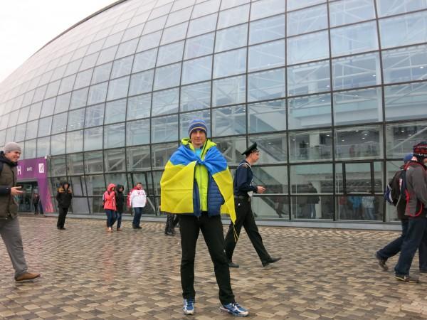 На Олимпиаде так ходить не страшно