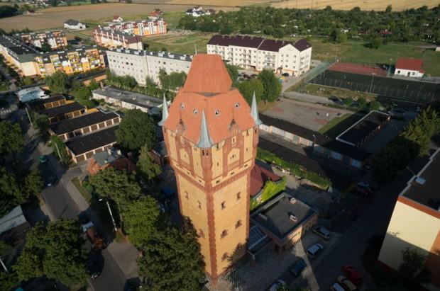 Водонапорная башня в городе Косьцян (Kościan)