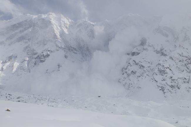 Итальянский альпинист Даниэль Нарди (Daniele Nardi) на восьмитысячнике Нангапарбат