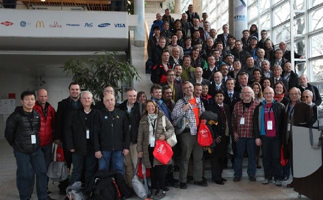 Члены девятой пленарной Ассамблеи Международной Федерации спортивного скалолазания (IFSC)