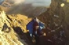 Полет в вингсьюте в Ингушетии с вершины Мят-Лоам (+ВИДЕО)