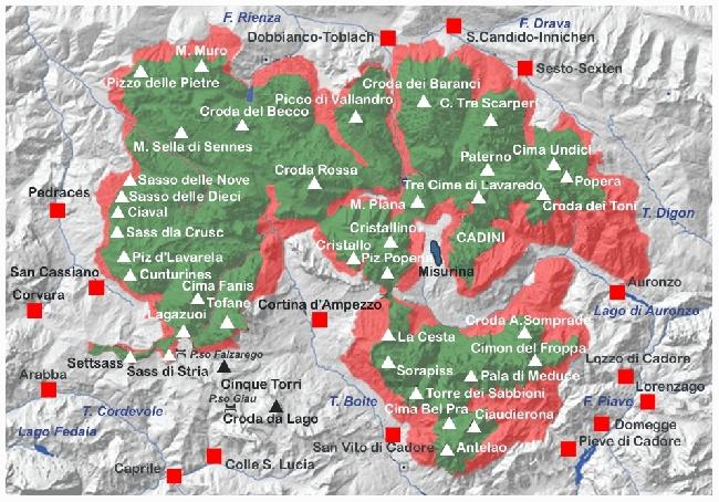 Dolomiti Settentrionali (Северные Доломиты)