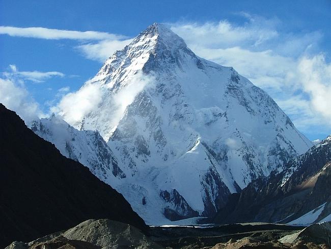 Вид на К2 с территории Балтистана (Baltistan).