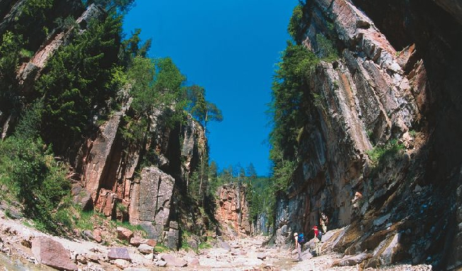 каньон Блеттербах (Bletterbach)