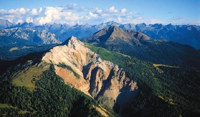 Corno Bianco 2317 м и каньон Блеттербах (Bletterbach)