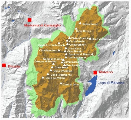 Dolomiti di Brenta - Brenta Dolomites