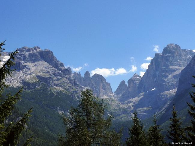 Горный массив Тоза (Tosa Massif - Brenta Dolomites)