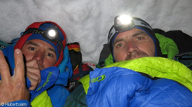 Томас Хубер (Thomas Huber) и Марио Волдер (Mario Walder) в Патагонии