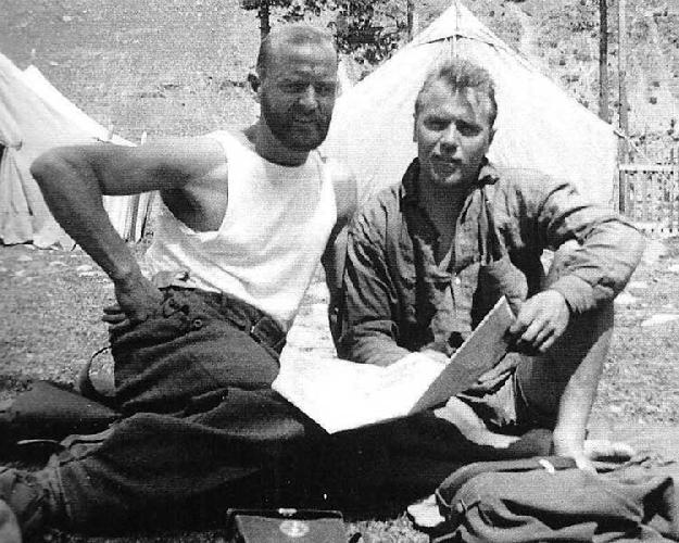 в а/л «Адыл-су» – Лоренц Саладин (слева) и Георгий (Гок) Харлампиев